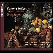 Soirées du goût - L'arome de L'est - Harp Music from Eastern Europe and Beyond / Masumi Nagasawa