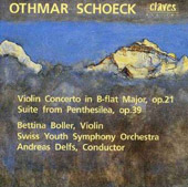 Schoeck: Violin Concerto, Penthesilea Suite / Boller, Delfs