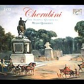 Cherubini: String Quartet no 1 - 6 / Melos String Quartet Stuttgart