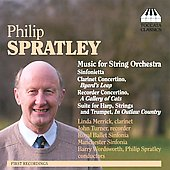 Spratley: Music for String Orchestra / Spratley, Manchester Sinfonia, et al