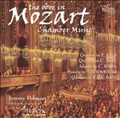 The Oboe in Mozart Chamber Music - Oboe Quartet, K370; Quintet, K617; Adagio, K580a; Sonata, K376/K374d; Quintet, K452 / Jeremy Polmea, oboe