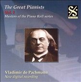 The Great Pianists, Vol. 1