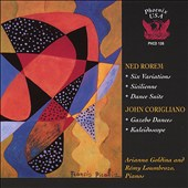 Rorem: Six Variations; Sicilienne; Corigliano: Gazebo Dances; Kaleidoscope