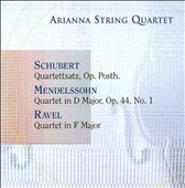 Schubert, Mendelssohn, Ravel: String Quartets