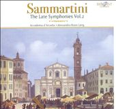 Sammartini: Late Symphonies, Vol. 2