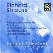 R. Strauss: Also sprach Zarathustra; Don Juan; etc. / Blomstedt