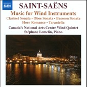 Saint-Sa&euml;ns: Music for Wind Instruments
