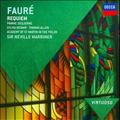 Faure: Requiem; Pavane / Sylvia McNair, Thomas Allen, Neville Marrinier - ASMF