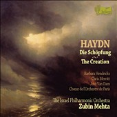 Haydn: The Creation / Barbara Hendricks, Chris Merritt, José Van Dam. Zubin Mehta
