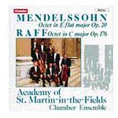 Mendelssohn, Raff: Octets / ASMF Chamber Ensemble