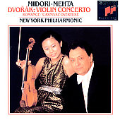 Dvorak: Violin Concerto, Romance / Midori, Mehta