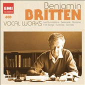 Benjamin Britten: Vocal Works - Les Illuminations; Serenade; Nocturne, Folk Songs; Canticles; Sonnets [6 CDs]