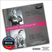 Operatic Recitals by tenors Giuseppe Campora & Gianni Poggi
