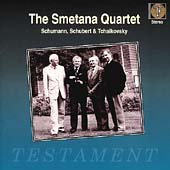 Schumann, Schubert, Tchaikovsky: Quartets / Smetana Quartet