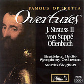 Famous Operetta Overtures - J. Strauss II, von Supp&#233;, et al