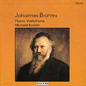 Merit - Brahms: Piano Variations / Michael Boriskin