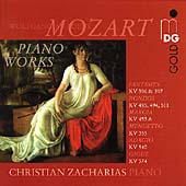 Mozart: Piano Works / Christian Zacharias
