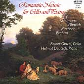 Romantic Music for Cello and Piano / Ginzel, Deutsch