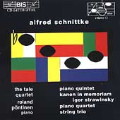 Schnittke: Piano Quintet, Kanon, Piano Quartet, String Trio