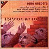 Eespere: Invocatio - New Choral Music form Estonia / Uleoja