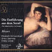 Mozart: Die Entf&uuml;hrung aus dem Serail / Moralt, et al
