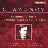 Glazunov: Symphony no 3, Concert Waltzes / Polyansky, et al