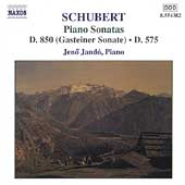 Schubert: Piano Sonatas D 850 & D 575 / J&eacute;n&ouml; Jand&oacute;
