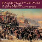 Bortkiewicz: Symphonies / Brabbins, BBC Scottish SO