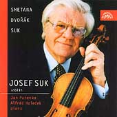 Smetana, Dvor&#225;k, Suk: Violin Music / Suk, Panenka, Holecek