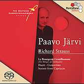 Strauss: Le Bourgeois gentilhomme, etc / P. J&auml;rvi, et al