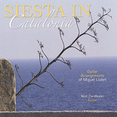 Siesta in Catalonia / Guitar arrangements of Miguel Llobet