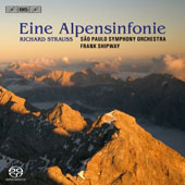 Richard Strauss: An Alpine Symphony; Die Frau ohne Schatten symphonic fantasy / Shipway, Sao Paolo SO