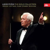 Libor PeÜek: The Gold Collection - Debussy, Suk, Ravel, Elgar, Scriabin, Bruckner / Michaela Fukacova, cello, Garrick Ohlsson, piano, Eva Depoltova, soprano et al.