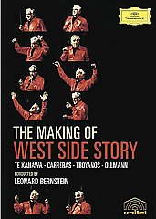 Te Kanawa, Carreras, Bernstein / The Making Of The West Side Story [DVD]