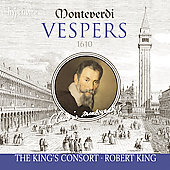 Monteverdi: Vespro della beata Vergine / King, et al
