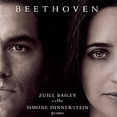 Beethoven: Cello Sonatas Vol 1 / Bailey, Dinnerstein