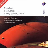 Schubert: Octet, String Quintet / Baumann, Brandis Quartet