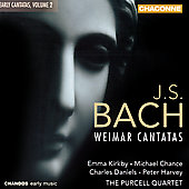 Bach: Weimar Cantatas Vol 2 / Kirkby, Purcell Quartet