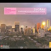 Dvor&aacute;k: Symphony no 9;  Schumann: Concertst&uuml;ck for 4 Horns / Krivine, La Chambre Philharmonique