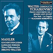 Tchaikovsky: Piano Concerto no 1, Romeo & Juliet Overture, etc / Walter, Horowitz, et al