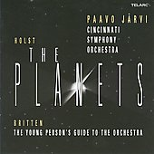 Holst: Planets;  Britten: Young Person Guide / Pavo Jarvi, Cinncinnati SO