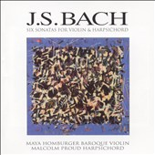 Bach: 6 Sonatas for Violin and Harpsichord