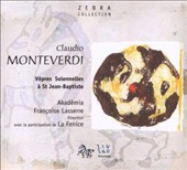 Monteverdi: V&#234;pres Solennelles &#224; St Jean-Baptiste