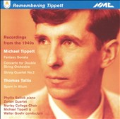 Remembering Tippett: Recordings from the 1940's