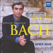 J.S. Bach: Goldberg Variations / Avner Arad, piano