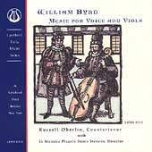 Byrd: Music for Voice and Viols / Oberlin, In Nomine Players
