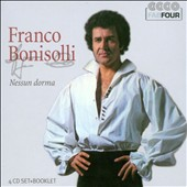 Nessun Dorma / Franco Bonisolli, tenor (rec. 1972 - 1975) [4 CDs]