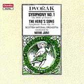 Dvor&aacute;k: Symphony no 1, etc / J&auml;rvi, Scottish NO