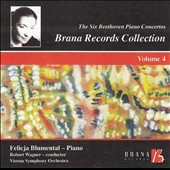 The Six Beethoven Piano Concertos, Vol. 4 / Felicia Blumenthal, piano