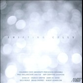 Shifting Cells - music for percussion ensemble by Muhly, Cherney, Griffin, Rumbelow / Amy Griffiths, saxophone